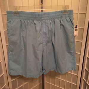 Gap Mens Blue Swim Trunks Shorts Size L NWT
